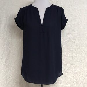 Danielrainn two tone blouse